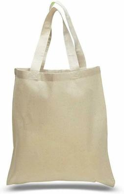 "1 Pack Durable Cotton Tote Bag 15"" x 16"", Plain Totes, Every"