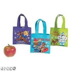 12 Rudolph the Red-Nosed Reindeer® Tote GIFT Bags CHRISTMAS