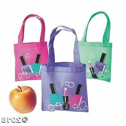 12 Spa NAIL SALON GIRLS PAMPER PARTY Tote Bags BRIDAL SHOWER