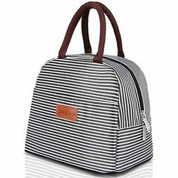 BALORAY Lunch Bag Tote For Women Box Insulated Container Kit
