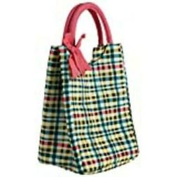Buttoned Sealed Leak Proof Insulated Lunch Tote for Women -