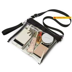 Veckle Clear Purse Crossbody, Nfl Stadium Approved Clear Bag