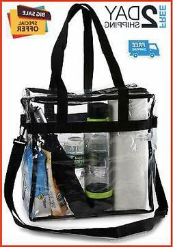 Clear Tote Bags Transparent Plastic Purse Handbags Approved