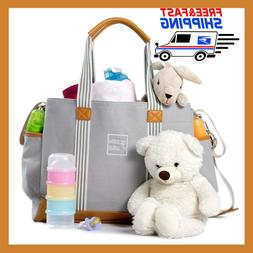 Diaper Bag for Girls and Boys - Large Capacity Baby - Nappy