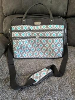 Fit & Fresh Wayfarer Carry On Tote Bag with Luggage Sleeve