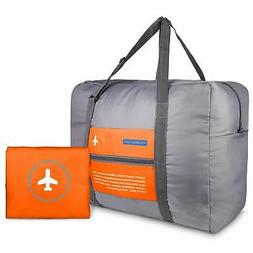 Travel Foldable Duffle Bag Tote Carry on Luggage Spirit Airl