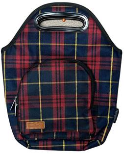 Home Innovation Insulated Lunch Tote Bag Reusable Zipper Poc