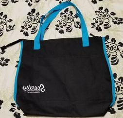 independent consultant insulated tote bag purse black
