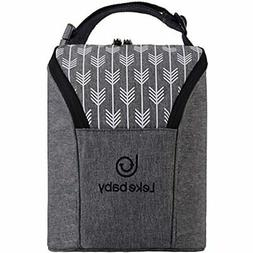 Insulated Baby Bottle Tote Bags Travel Double Warmer Or Cool