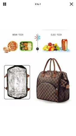 WODKEIS Insulated Cooler Lunch Bag Large Lunch Tote Food Box