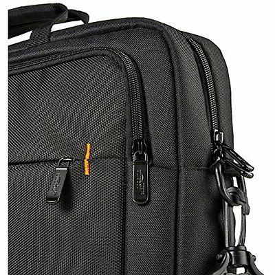 "17"" Tote Shoulder Storage Case Slim Compact Accessories Travel Men"