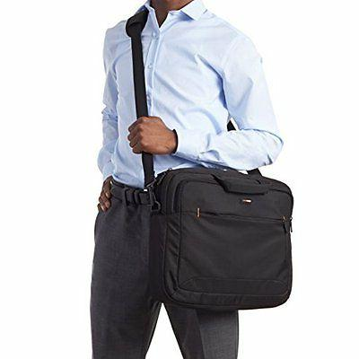 "17"" Laptop Bag Shoulder Storage Compact Accessories Travel"