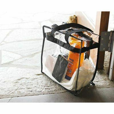 2-Pack Clear Tote Bag Stadium Approved Should