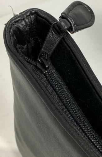 Perry Leather Bag Strap Bag W Zipper