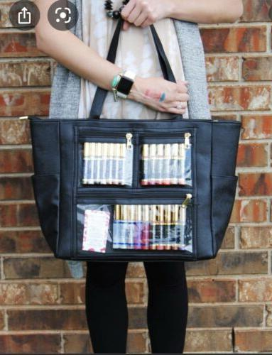 black display tote wow bag consultant supply