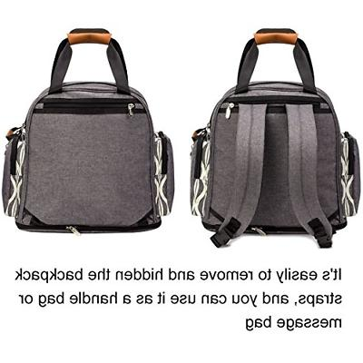 Lekebaby Backpack Tote Bag for Mom and in