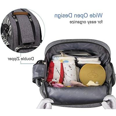 Lekebaby Bag Backpack for Mom and in