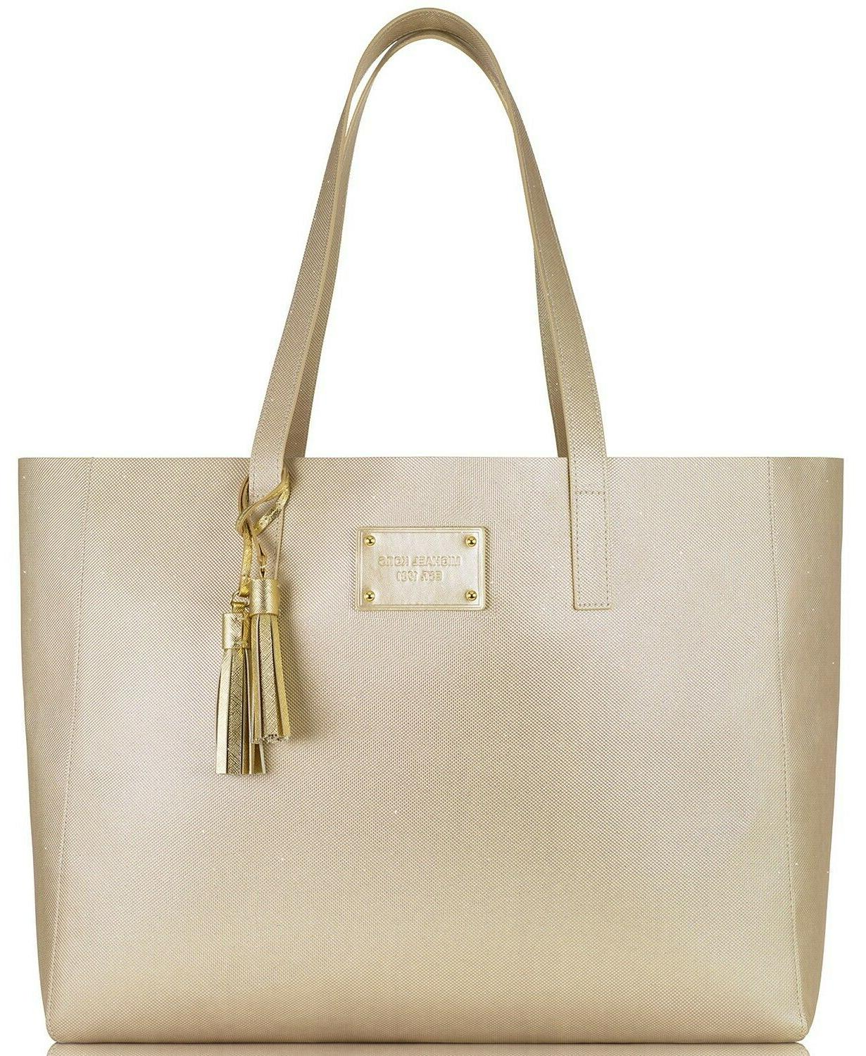 MICHAEL Gorgeous Golden Duo - Tote and NEW!