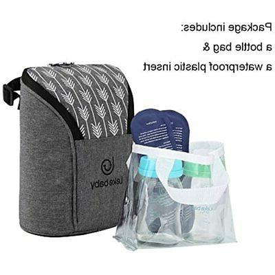 Insulated Baby Bottle Bags Travel Or