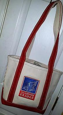 L.L. Bean Boat and Tote Bag REPUBLICAN EAGLES Boy Scouts Pre