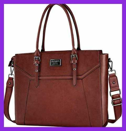"Laptop Tote Bag For Women Compatible 15.6 17"" Macbook&Notebo"