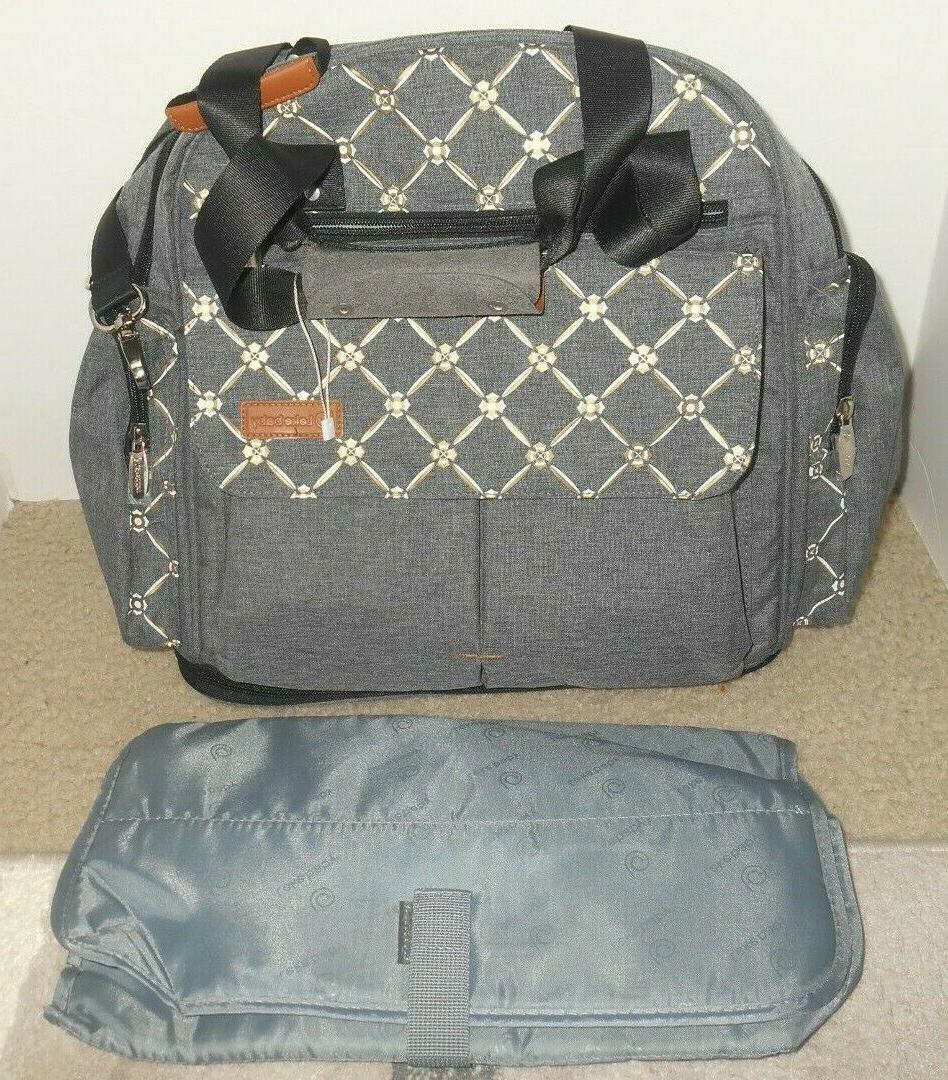large expandable diaper bag backpack baby tote