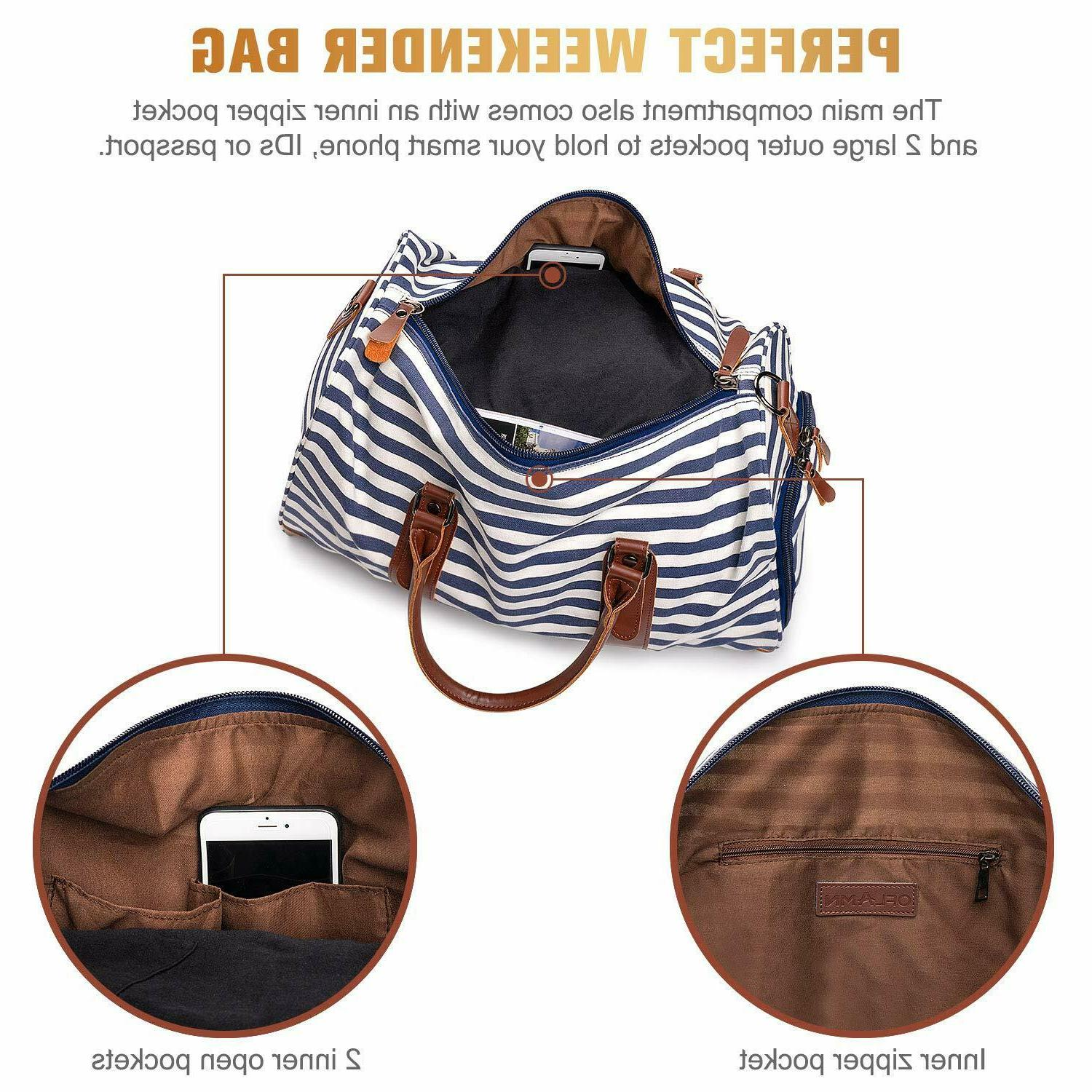 Leather Style Blue White Tote
