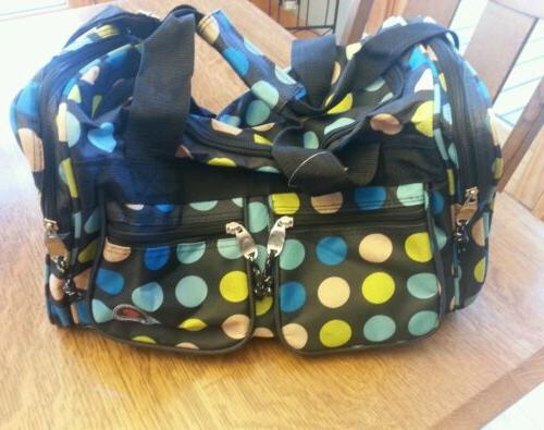 ROCKLAND TOTE MULTI DOTS ONE