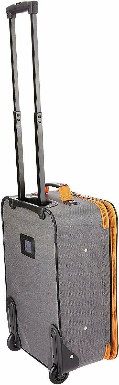 NEW Pcs Carry-on Rolling Suitcase Tote