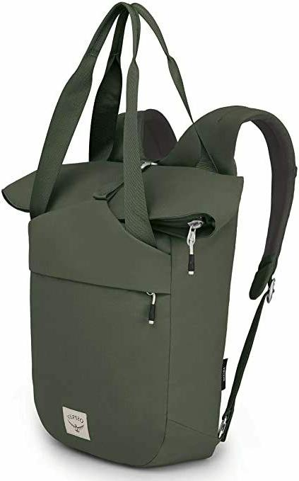 new arcane tote pack haybale green backpack