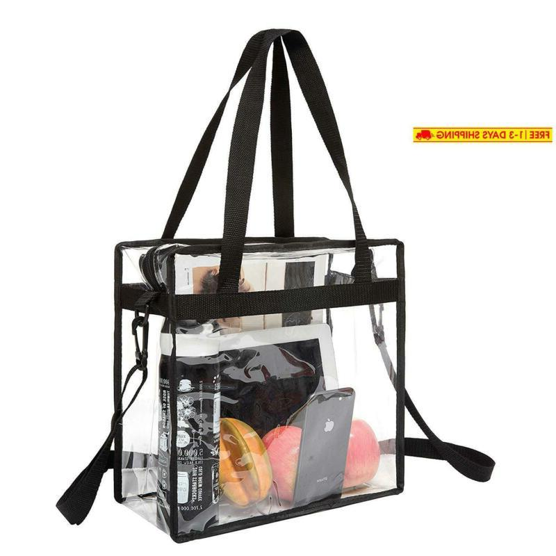 nfl and pga stadium approved clear tote