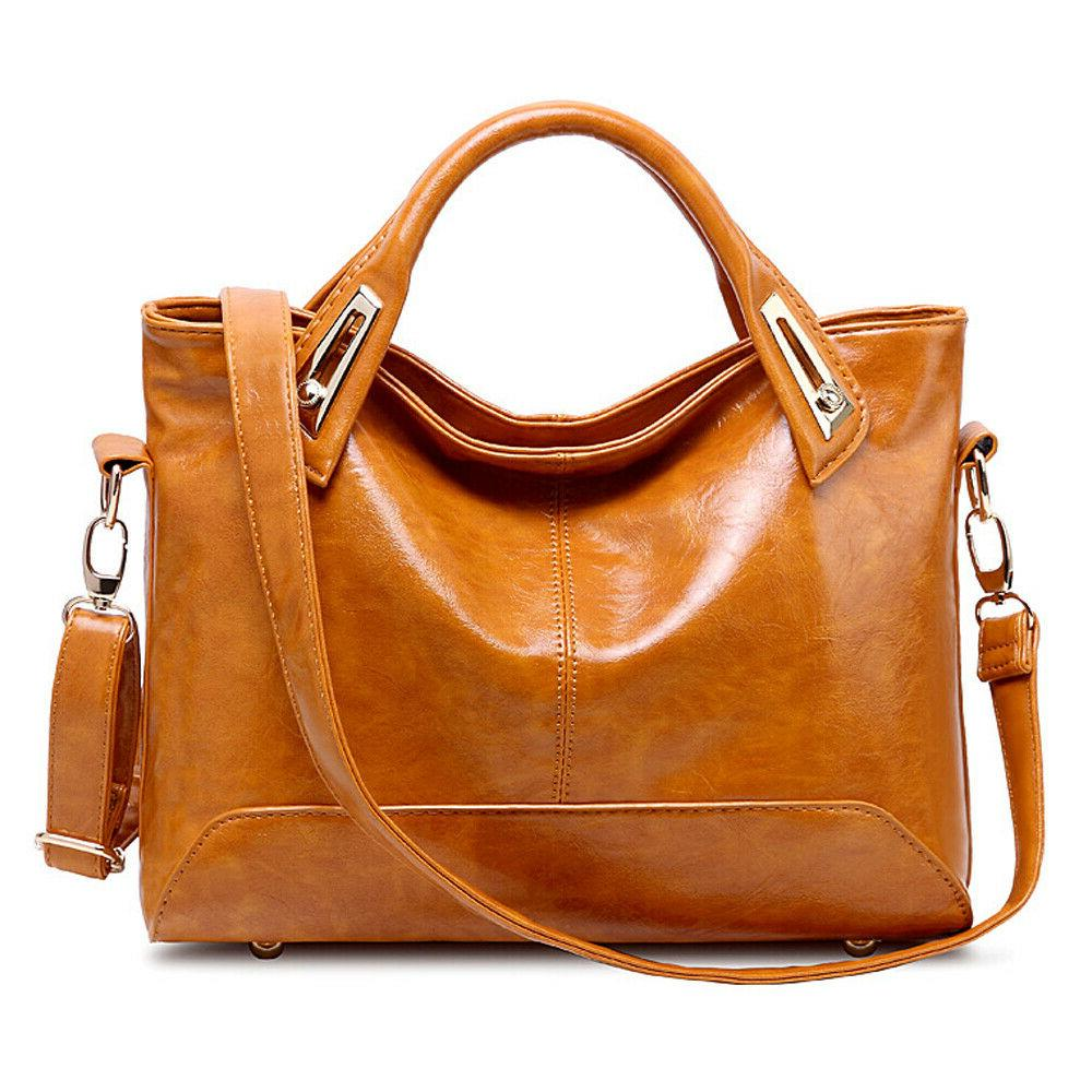 oil wax leather tote purse leather satchel