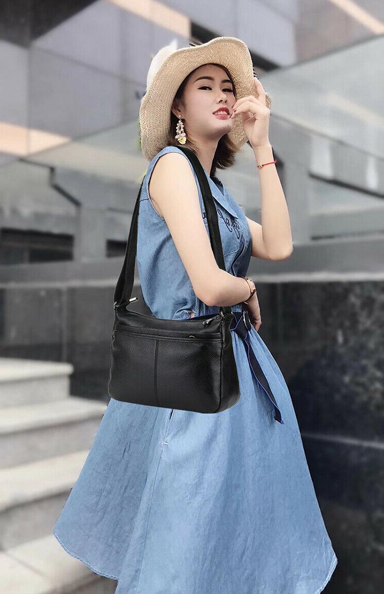 Real Genuine Leather Large Bag Woman