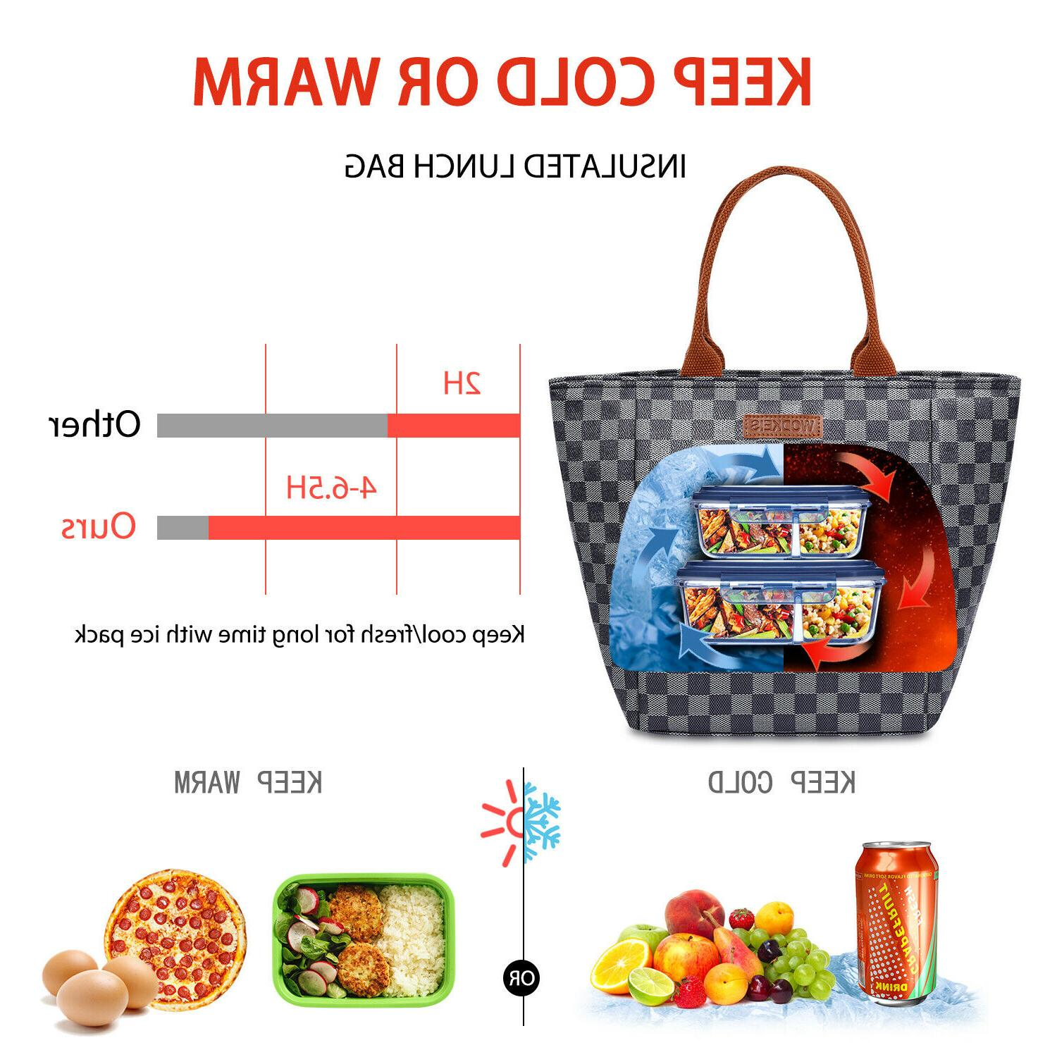 WODKEIS Insulated Lunch Tote