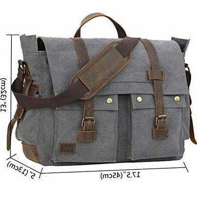 WOWBOX for Men inch Laptop Working Bag for