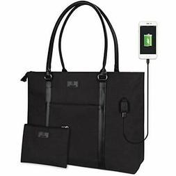 Laptop Tote Bag for Women Fits 15.6 inches Laptop Large Teac