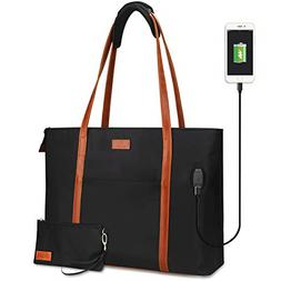 Relavel Laptop Tote Bag for Women Teacher Work Tote Bags wit