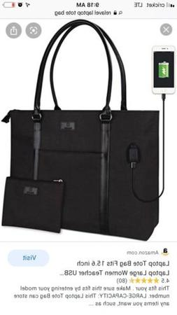 Relavel Laptop Tote Bag With USB Interface