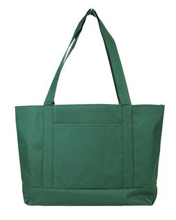 Blank Large Shopping Tote Bag - Forest Green