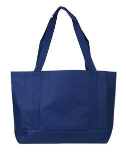 Blank Large Shopping Tote Bag - Navy Blue