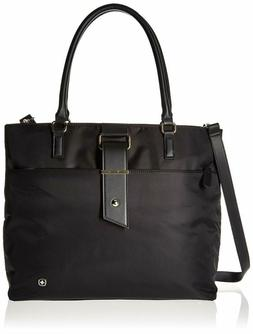 """Wenger Luggage Ana 16"""" Women'S Laptop Tote Bag, Black, One S"""