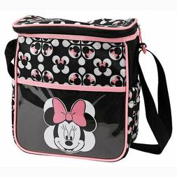 Disney Minnie Mouse Baby Small Diaper Bag Bottle Lunch Tote