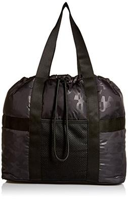 Under Armour Women's Motivator Tote, Black /Black, One Size