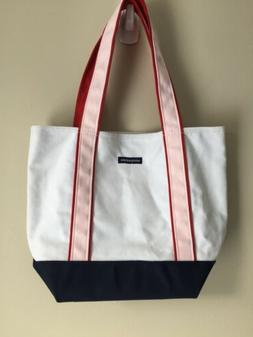 New aeropostale Canvas Tote Shoulder Hand Bag Purse Pink Red