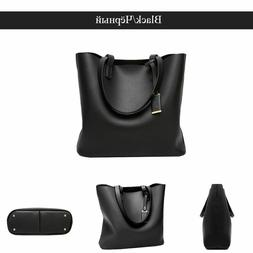 New fashion artificial leather tote bags for women ladies la