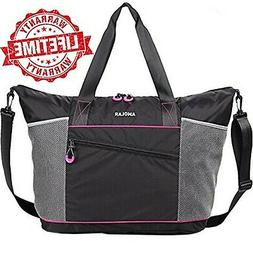 New Gym Bag for Women with Rommy Pockets, Womens Sports Work