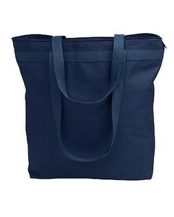 NEW Liberty Bags Tote Bag Large Bag with Zipper Closure 8802