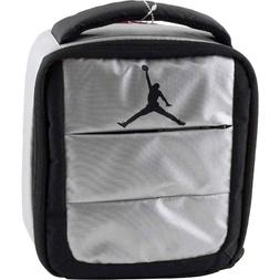 NIKE AIR JORDAN LUNCH BOX / BAG TOTE GREY / BLACK INSULATED
