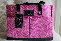 NWT Scout Pocket Rocket Pink Large Tote Bag For Women w/ 4 E