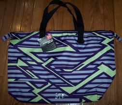 NWT Under Armour Womens On The Run Tote Gym Bag Sports Handb